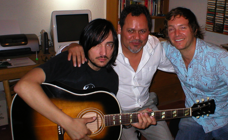With Beto Cuevas (From Chile group: La Ley)